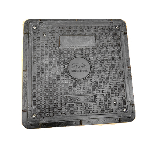 resin-manhole cover-square